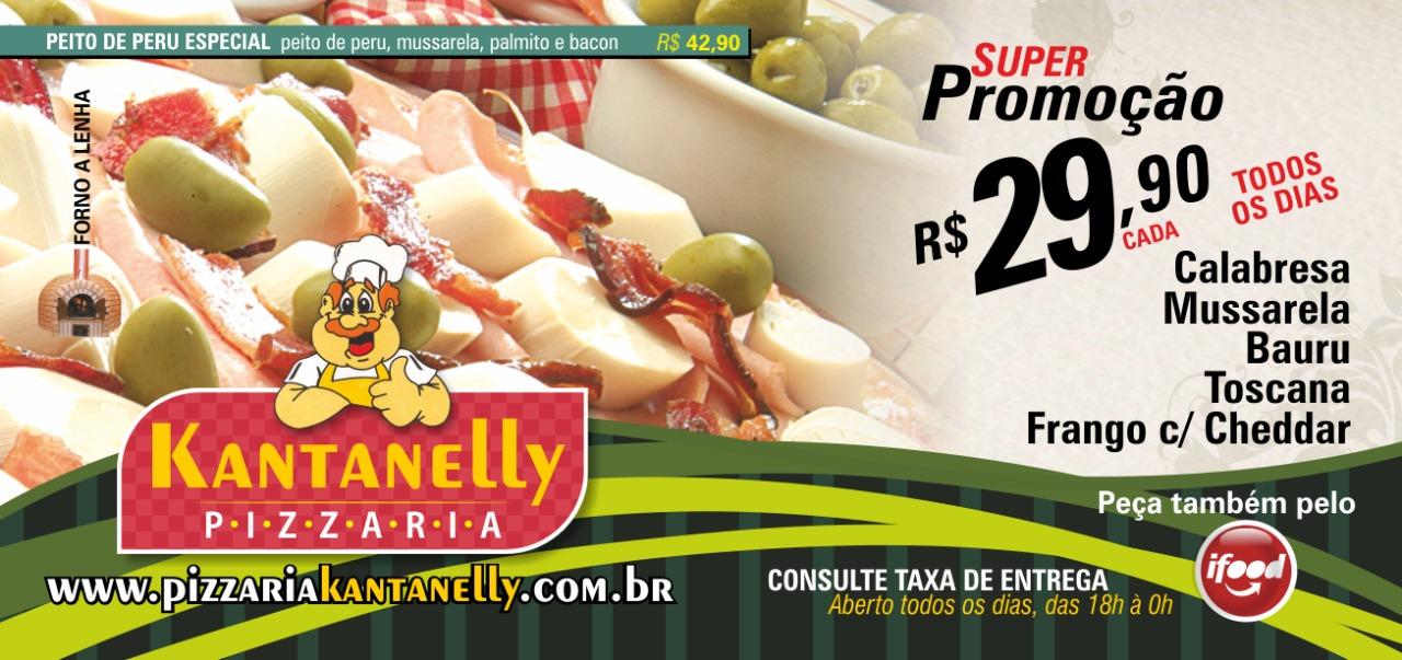 Melhor pizza da cidade - PIZZARIA KANTANELLY SP